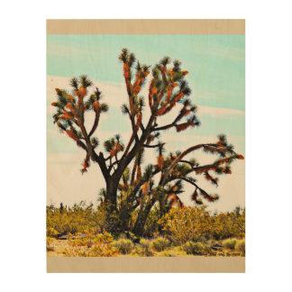 "ImagesByMJ ""Joshua Tree"" Wood Wall Decor"