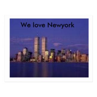 imagesCA1A27CK, We love Newyork Postcard