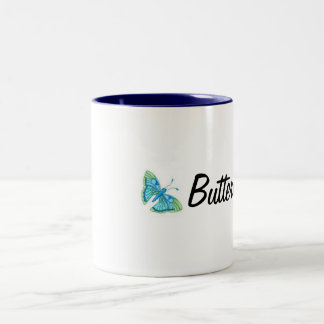 imagesCAM5F2XZ, imagesCAKZ7A7T, Butterfly Two-Tone Coffee Mug