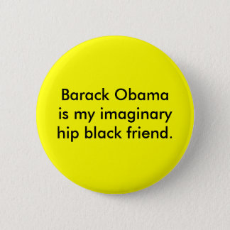 Imaginary Friend 6 Cm Round Badge