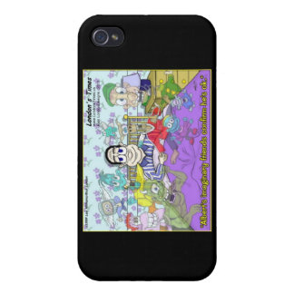 Imaginary Friends Funny Gifts, , Mugs & Cards iPhone 4 Case