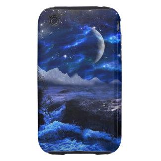 imaginary landscape iPhone 3 tough case