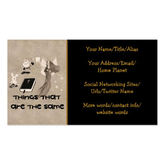 Imaginary Playthings Double-Sided Standard Business Cards (Pack Of 100)