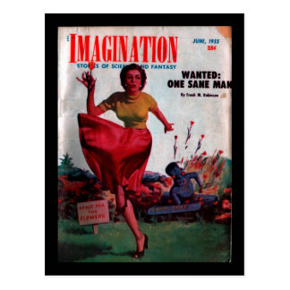 Imagination - 1955-6_Pulp Art Postcard