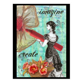 Imagination and Creation Postcard