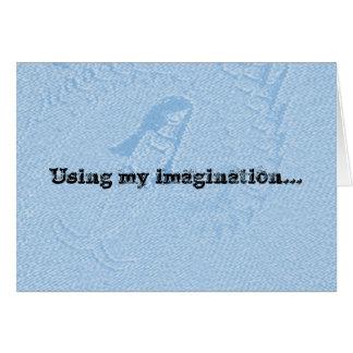Imagination Birthday Card For Child