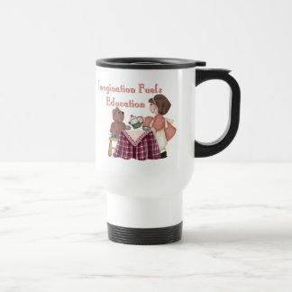 Imagination Fuels Education (teaparty) Mug
