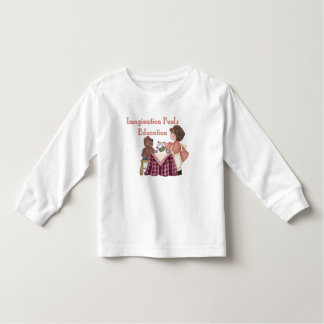 Imagination Fuels Education (teaparty) Toddler T Tshirts