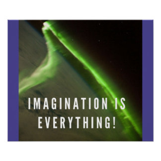 Imagination is Everything - Motivational Poster