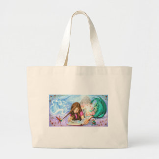 Imagination Large Tote Bag