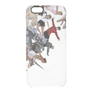 Imagination of a Child with Her Army of Friends Clear iPhone 6/6S Case