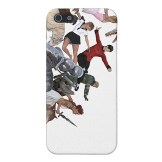 Imagination of a Child with Her Army of Friends iPhone 5/5S Cover