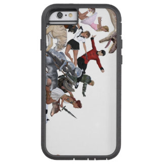 Imagination of a Child with Her Army of Friends Tough Xtreme iPhone 6 Case