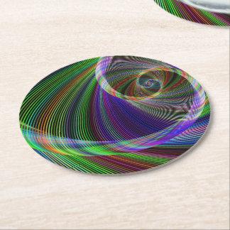 Imagination Round Paper Coaster