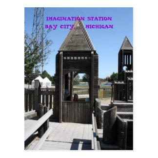 IMAGINATION STATION BAY CITY, MICHIGAN POSTCARD