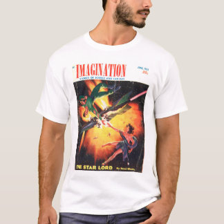 Imagination v04 n05 (1953-06.Greenleaf)_Pulp Art T-Shirt
