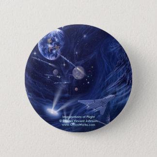 Imaginations of Flight, Imaginations of Flight... 6 Cm Round Badge