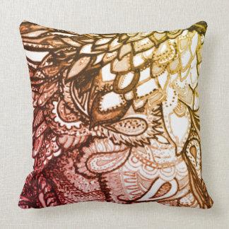 Imaginative Pillow Zen Tangle Pattern