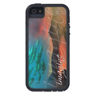 Imagine: A Mind-Expanding Nature Collage iPhone 5 Cover