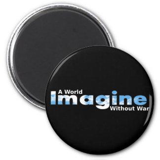 Imagine a World Without War Magnet