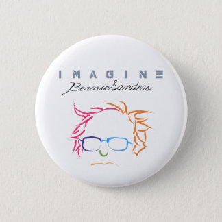 Imagine Bernie Sanders 6 Cm Round Badge