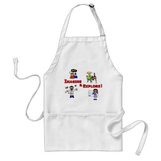 Imagine & Explore Apron