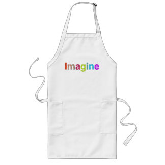 Imagine fun colorful inspiration gift long apron