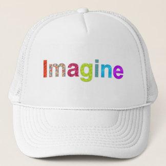 Imagine fun colorful inspiration Hat