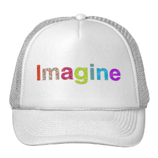 Imagine fun colorful inspiration Hat