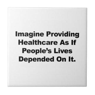 Imagine Healthcare People's Lives Depend On Ceramic Tile