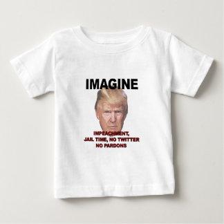 Imagine Impeachment, Jail, No Twitter, No Pardons Baby T-Shirt