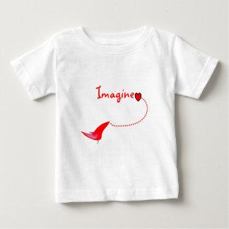 """Imagine""---John Gifts Baby T-Shirt"