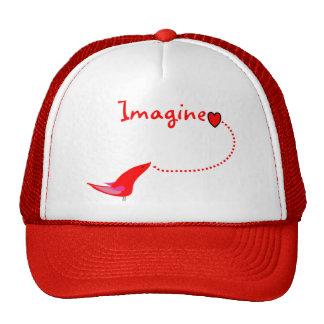 """Imagine""---John Gifts Mesh Hats"
