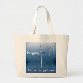 Imagine Jumbo Tote Tote Bag