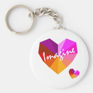 Imagine Key Chain