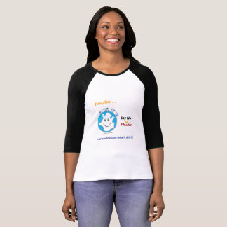 Imagine Ladies Shirt ¾ sleeve raglan shirt
