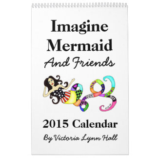 Imagine Mermaid & Friends 2015 Calendar