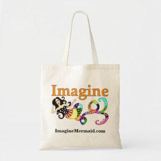 Imagine Mermaid Tote Bag