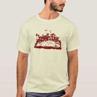 Imagine Mystery Island - the Mysterious Island T-Shirt