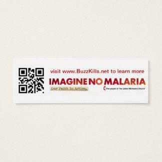 Imagine No Malaria Info Card