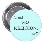 Imagine No Religion 7.5 Cm Round Badge