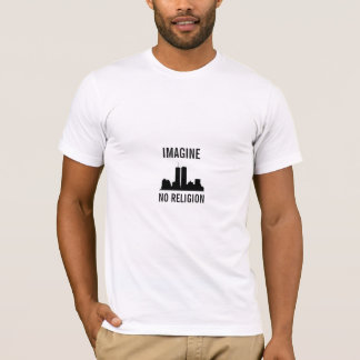 Imagine No Religion t-shirt by Logidea