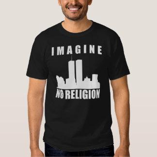 Imagine no religion t-shirts
