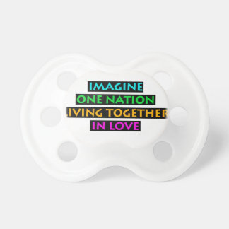 Imagine One Nation Living Together In Love Dummy