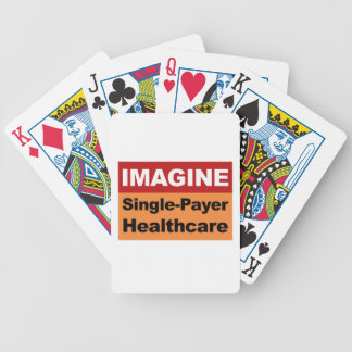 Imagine Single Payer Healthcare Poker Deck