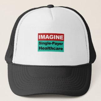 Imagine Single Payer Healthcare Trucker Hat