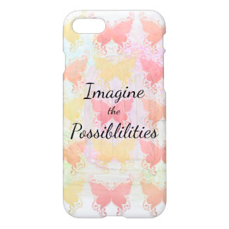 Imagine the Possibilities Inspirational Butterfly iPhone 8/7 Case