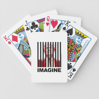 Imagine Trump Behind Bars Bicycle Playing Cards