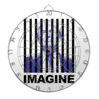 Imagine Trump Behind Bars Dartboard