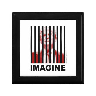 Imagine Trump Behind Bars Gift Box